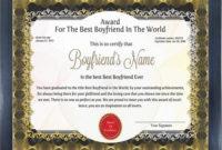 Thank You Gifts: 11 Gifts For Boyfriend To Show Appreciation inside Best Certificate For Best Boyfriend 10 Sweetest Ideas