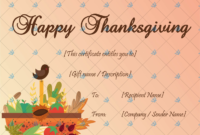 Thanksgiving Gift Certificate Template (Basket) – Word throughout Fresh Thanksgiving Gift Certificate Template Free