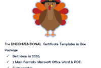 Thanksgiving Gift Certificate Template Free Downloadone within Fresh Thanksgiving Gift Certificate Template Free