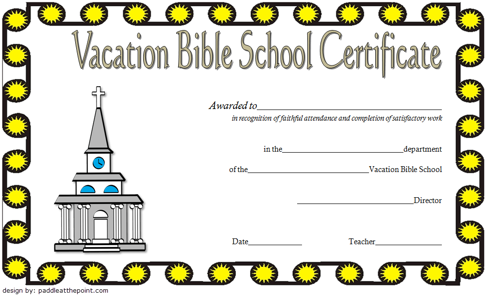 The Best Vbs Certificate Printable – Mason Website Inside Best Printable Vbs Certificates Free