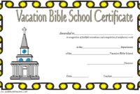 The Best Vbs Certificate Printable – Mason Website with regard to Best Vbs Attendance Certificate Template