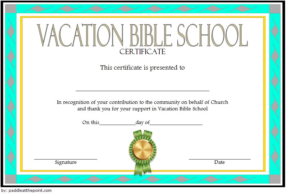 The Best Vbs Certificate Printable – Mason Website With Unique Lifeway Vbs Certificate Template