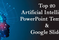 Top 20 Artificial Intelligence Powerpoint Templates And for Unique Free 9 Smart Robotics Certificate Template Designs