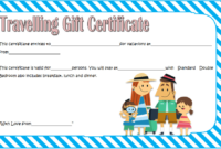 Travel Gift Certificate Template Free Printable 1 In 2020 throughout Fresh Travel Gift Certificate Templates