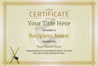 Use Free Baseball Certificate Templates -Awardbox in Baseball Award Certificate Template