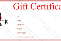 Valentine-Gift-Certificate-Template-Free-Red-Rose-Gift intended for Best Valentine Gift Certificate Template