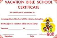 Vbs Certificate Template (4) – Templates Example | Templates throughout Lifeway Vbs Certificate Template