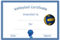 Volleyball Awards | Swimming Awards, Sports Awards, Baseball with regard to Best Volleyball Award Certificate Template Free