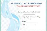 Walking Certificate Templates (4) – Templates Example in Dog Obedience Certificate Template Free 8 Docs