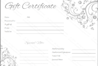Wedding Voucher Template Free Download – Google Search in Unique Free Editable Wedding Gift Certificate Template