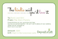 Wedding1_Kellywill | Wedding Shower Cards, Baby Shower Thank intended for Fresh Baby Shower Gift Certificate Template