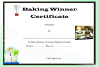 Winner Certificate Template : 40+ Word Templates [ For inside Cooking Contest Winner Certificate Templates