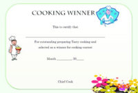 Winner Certificate Template : 40+ Word Templates [ For regarding Cooking Competition Certificate Templates