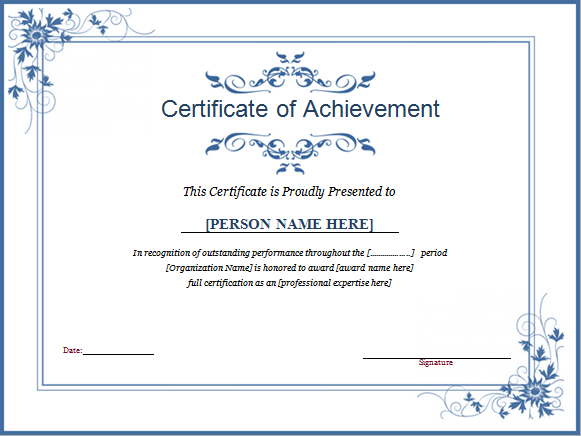 Winner Certificate Template For Ms Word | Document Hub Throughout Fresh 10 Certificate Of Championship Template Designs Free