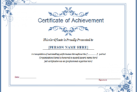 Winner Certificate Template For Ms Word | Document Hub within Unique Winner Certificate Template