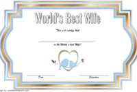 World'S Best Wife Certificate Template Free 1 | Good Wife inside Best Best Wife Certificate Template